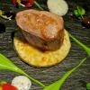 Filet de veau purée de petits pois