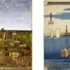 Van Gogh, dreams of Japan