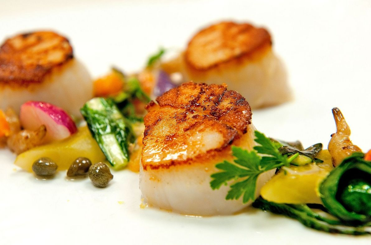 Capesante scallops (Photo by Ted Axelrod)