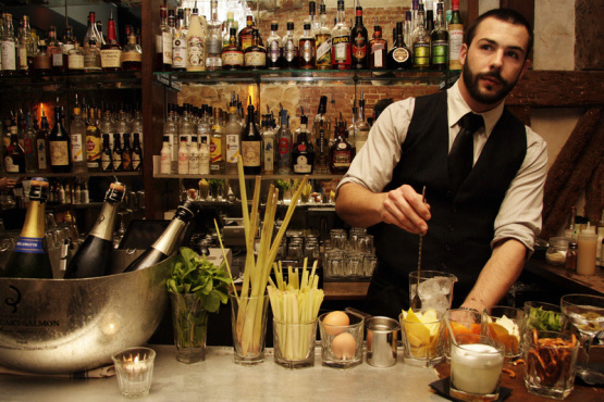 Mixologist at L'Experimental, Paris