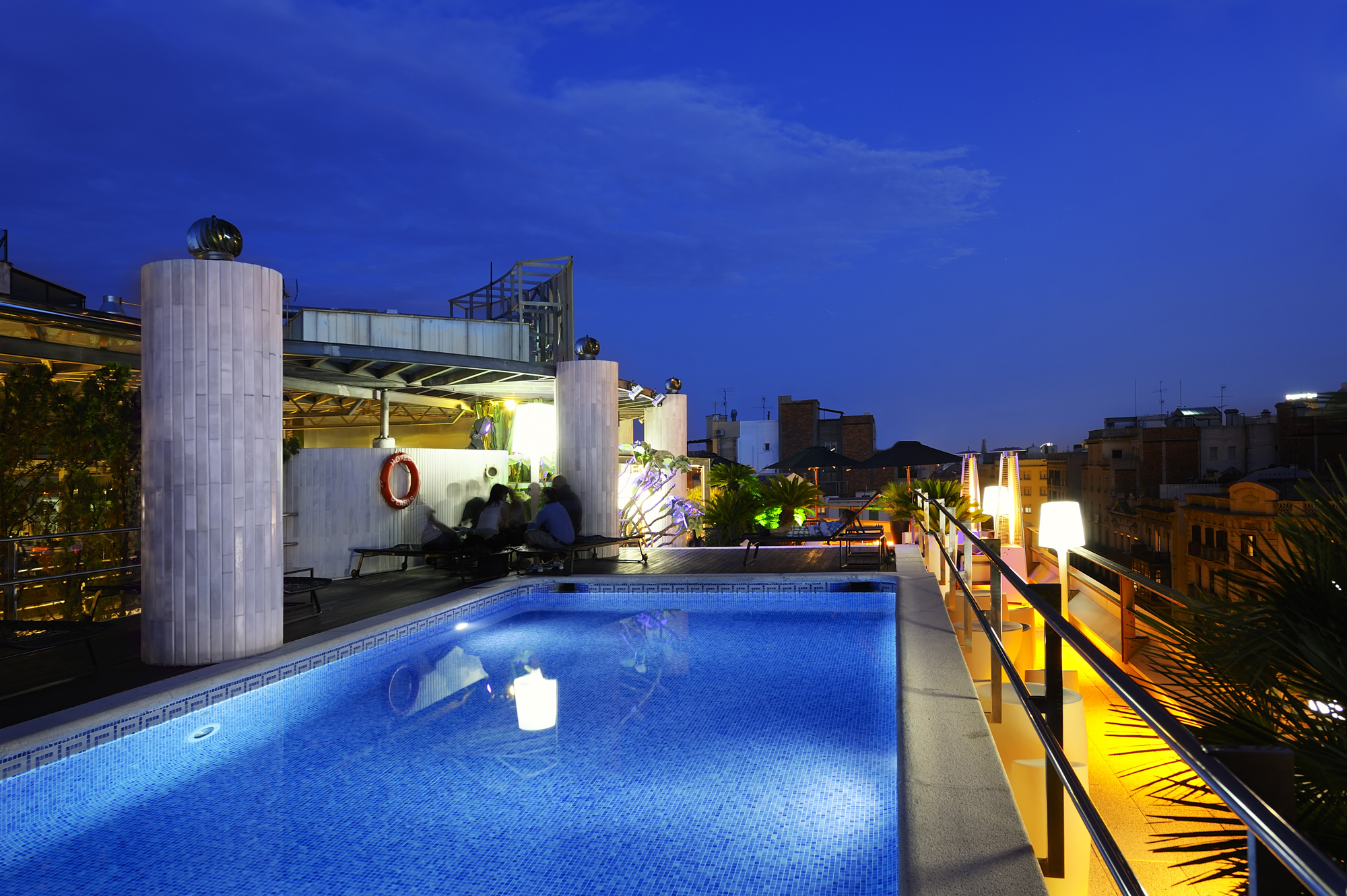 Join us and celebrate summer derby hotels collection for La terraza barcelona