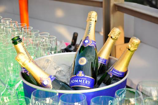 Pommery at La Terraza del Claris annual event