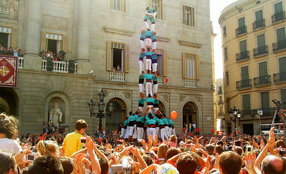 Castellers, human towers