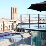 Terraces in Barcelona, Hotel Bagués