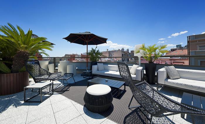 Terraces in Barcelona, Claris Hotel