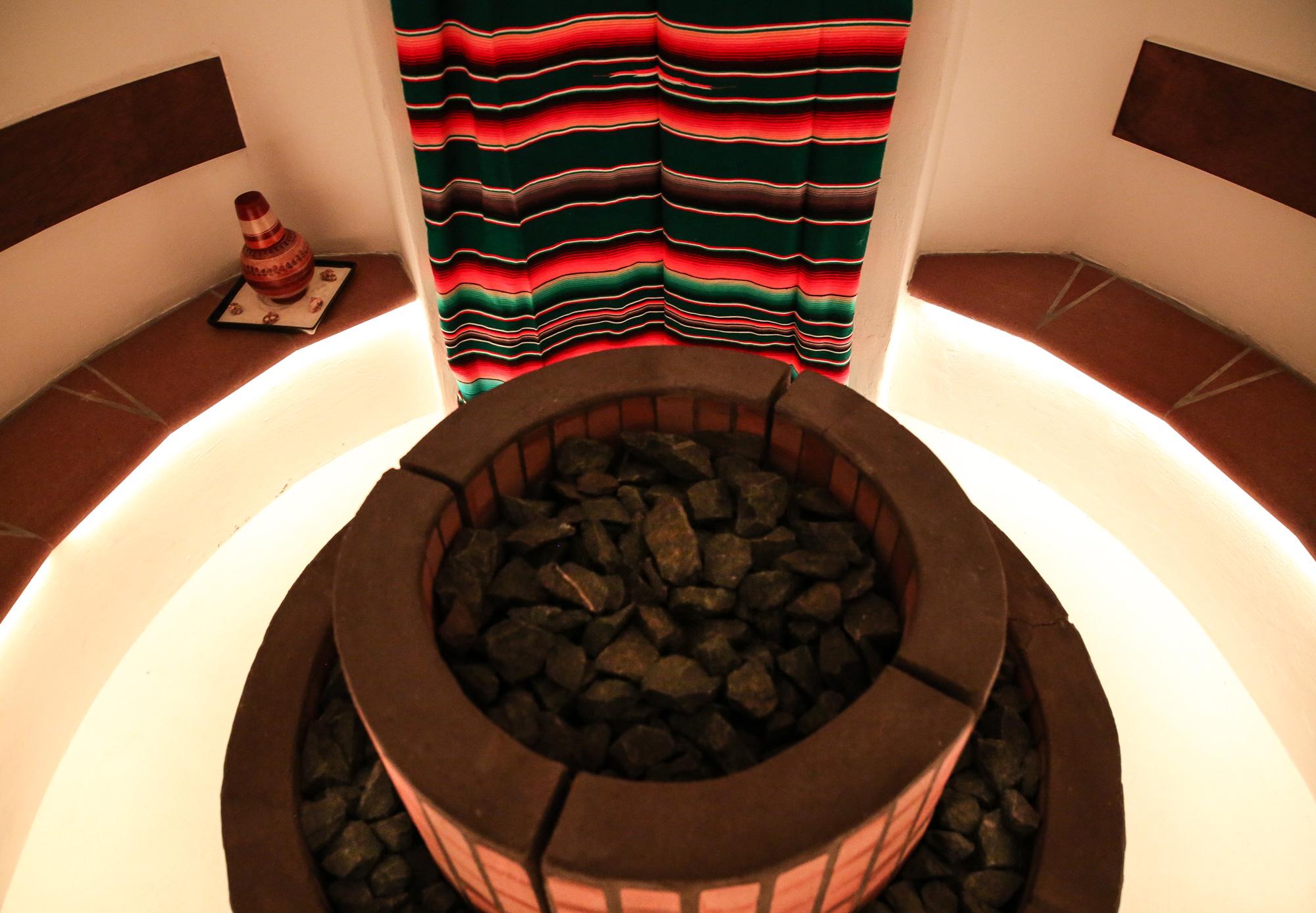Sauna - Mayan Secret Spa