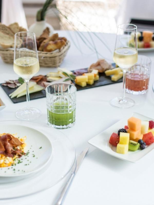 VIP breakfast food
