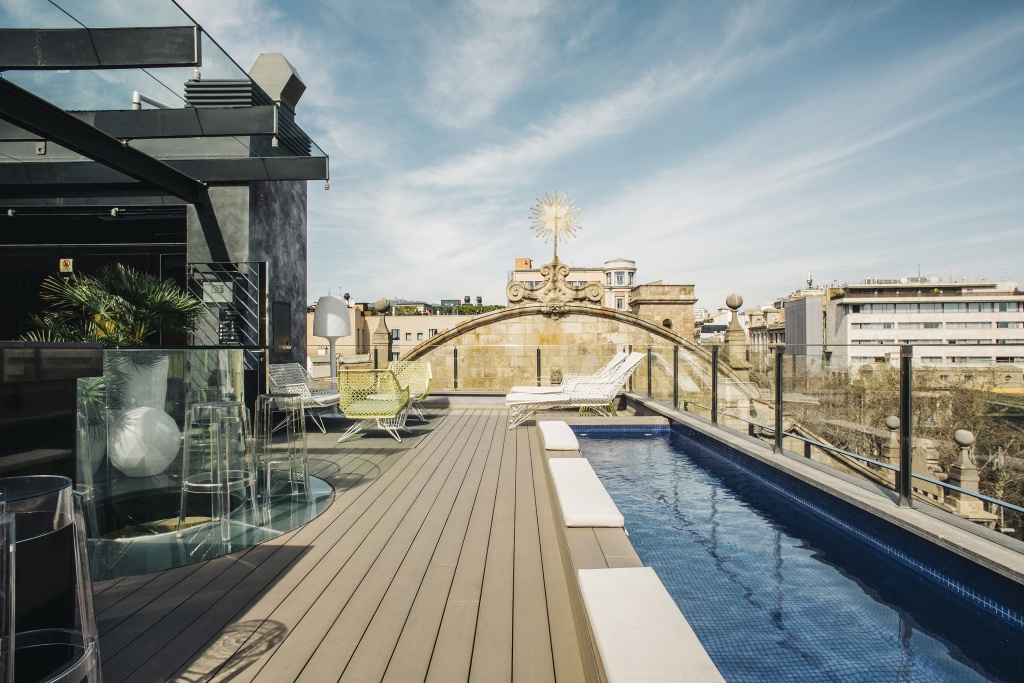 Hotel Bagues Terraza Rooftops Mejores Terrazas Barcelona Derby Hotels Collection