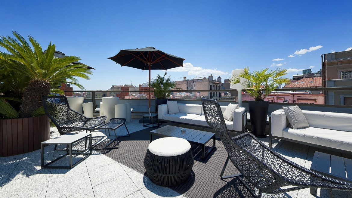Hotel Claris Terraza Derby Hotels Collection Terrazas Barcelona rooftop terraces