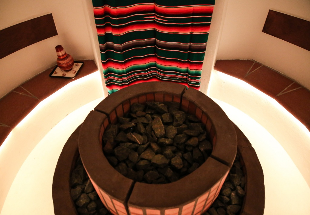 Sauna Temazcal Mayan Secret spa
