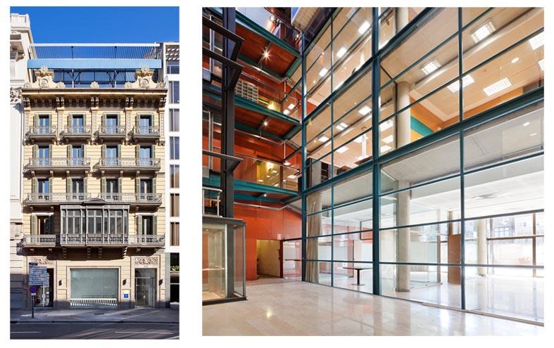 Edificio Casa Decor Barcelona 2012