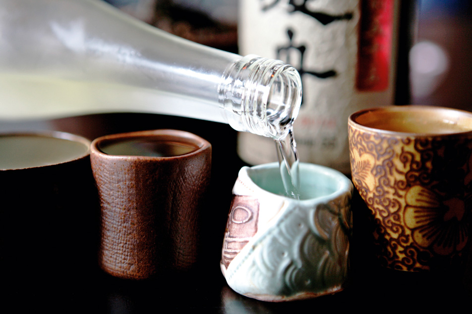 sake japanese drink