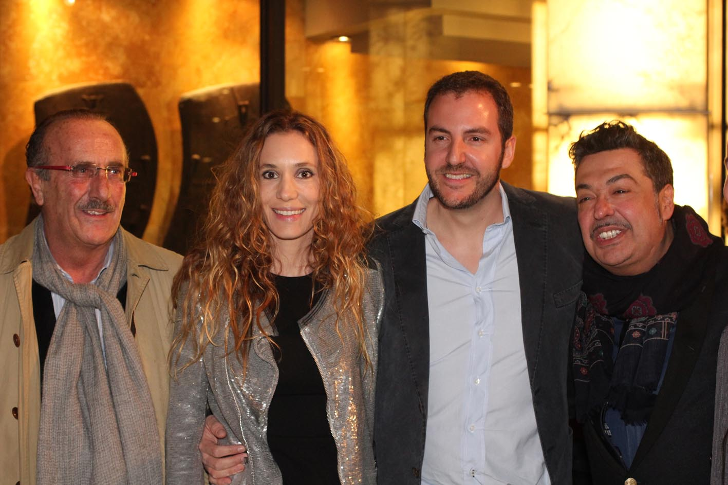 Blanca Cuesta, Borja Thyssen, Manuel Fernández