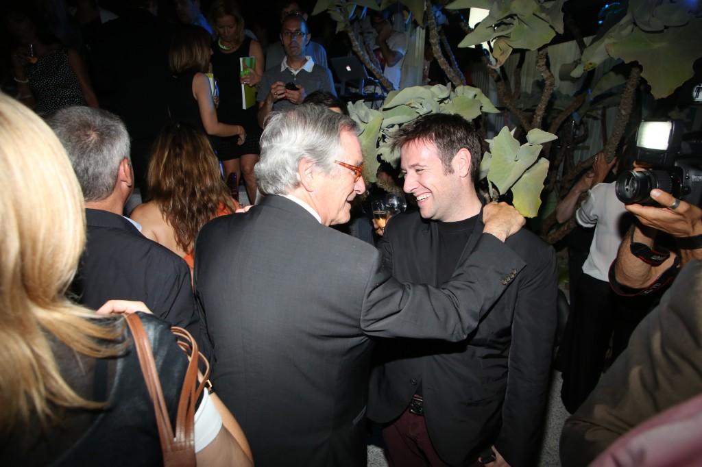 Xavier Trias con Carlos Latre