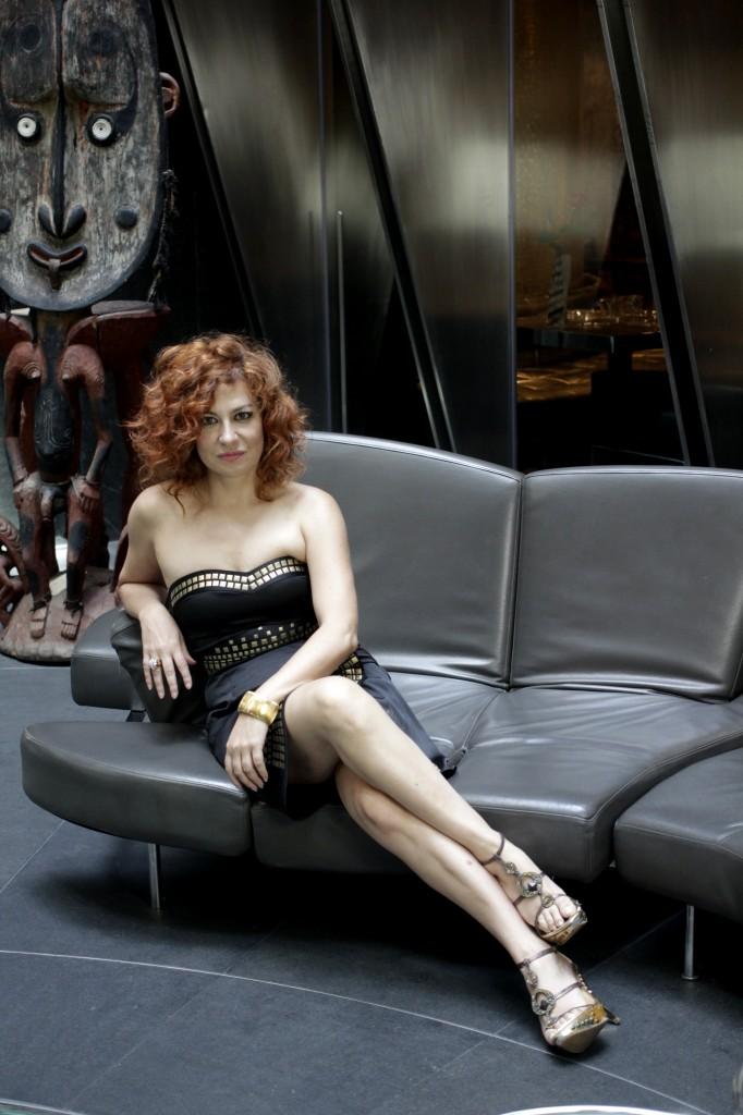 Pilar Jurado en el Hotel Urban