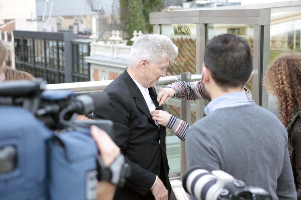 David Lynch en La Terraza del Urban