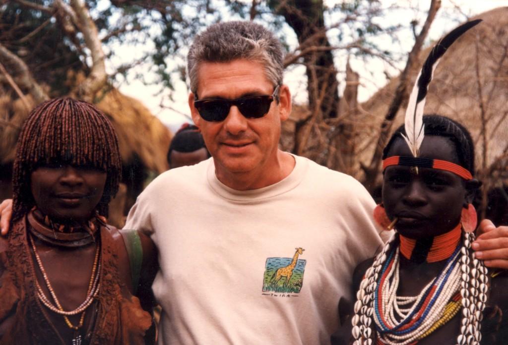 Jordi Clos en uno de sus viajes a África