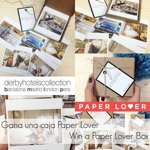 Concurso derby hotels con paper lover derby hotels for Derby hotels collection