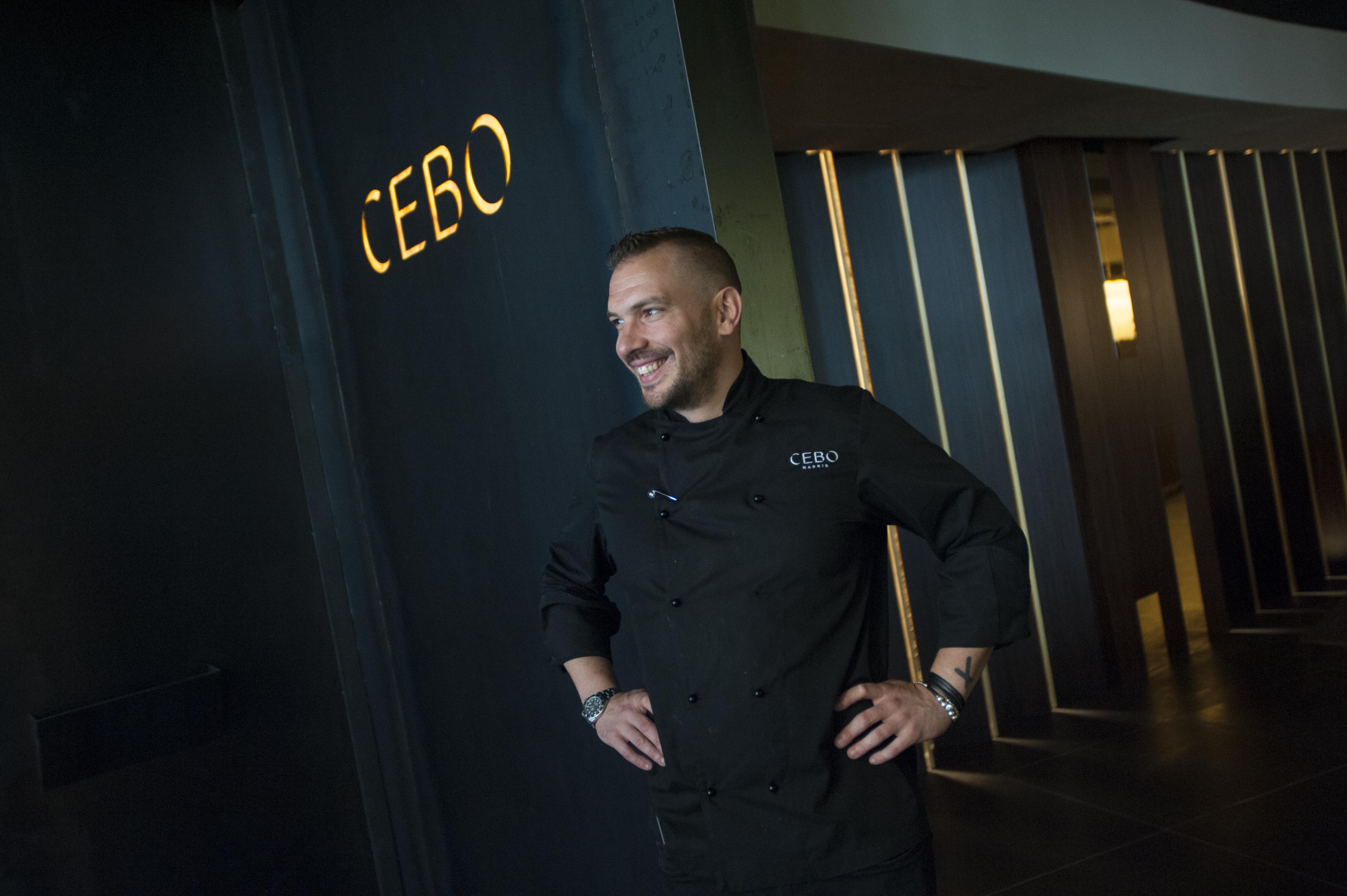CEBO Chef Aurelio Morales