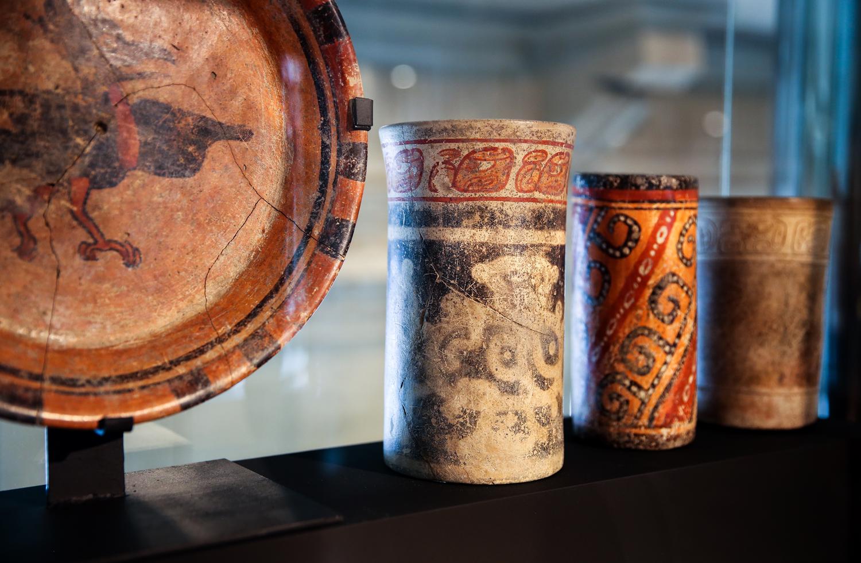 Cultura maya - Vasos