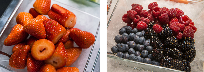 Fruta - Desayuno saludable Hotel Urban