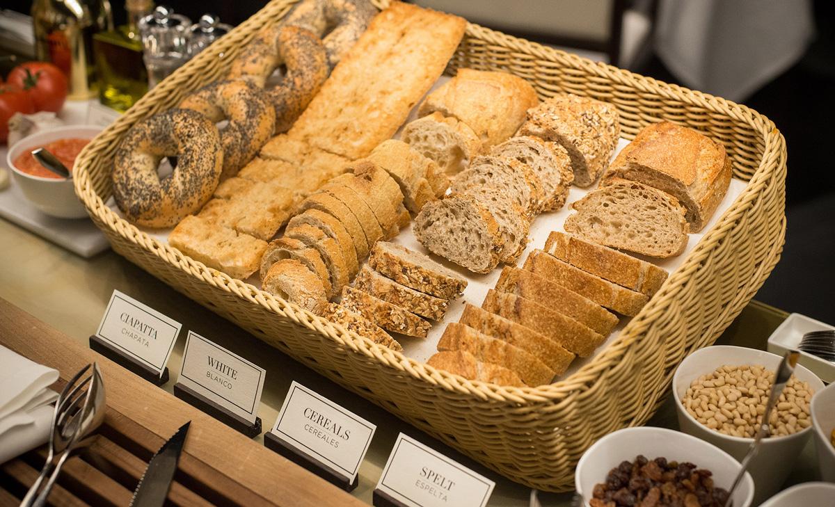 Pan - Desayuno saludable Hotel Urban