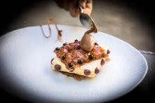 Ratafia con clavo y cacao