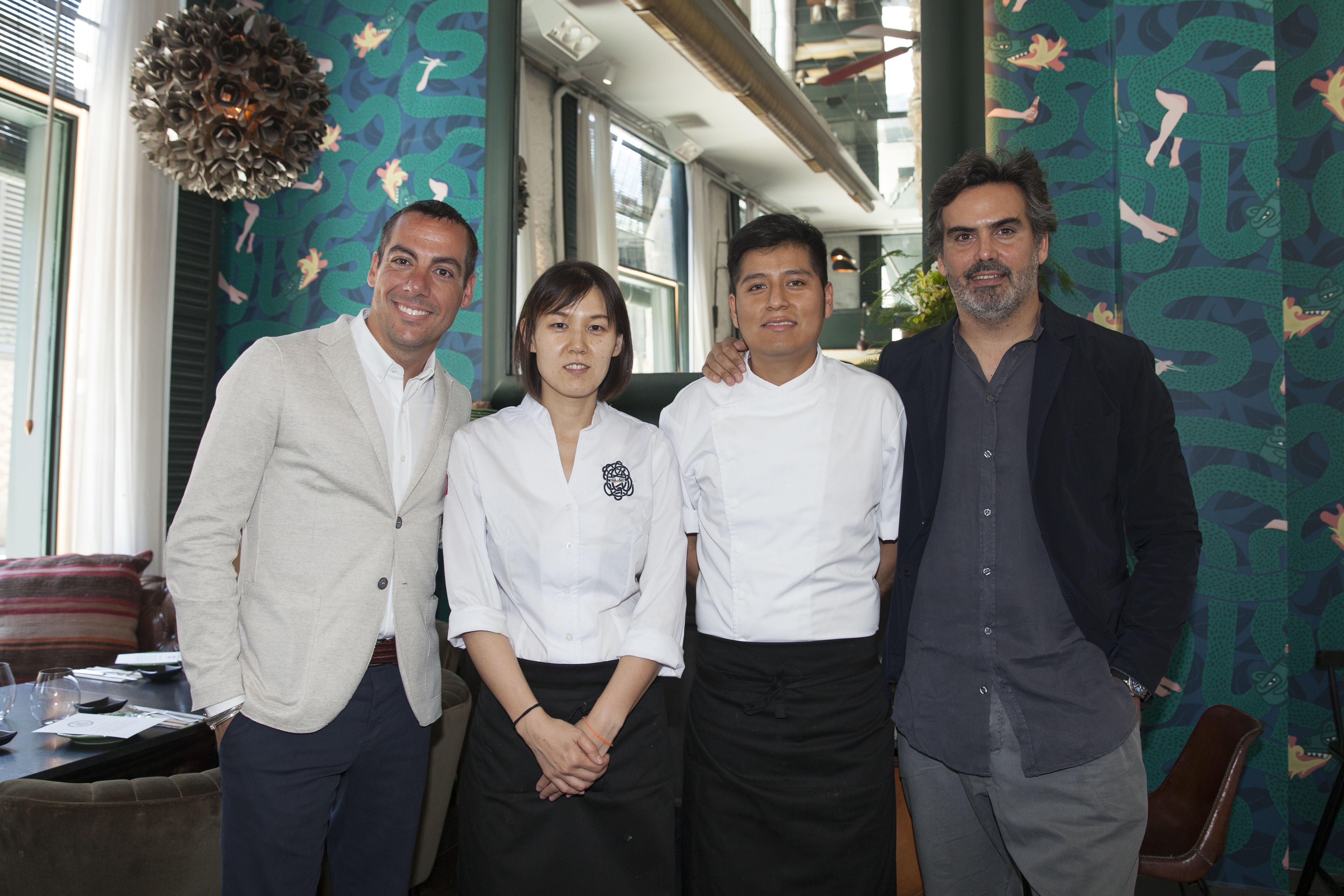 Derby Hotels y Grupo San Telmo junto a los chefs