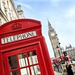 Cabina telefónica y el Big Ben de fondo - Londres