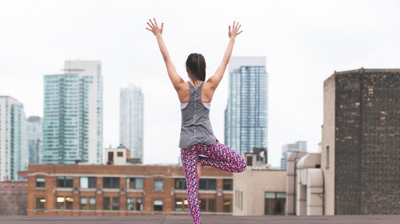 Yoga en la ciudad
