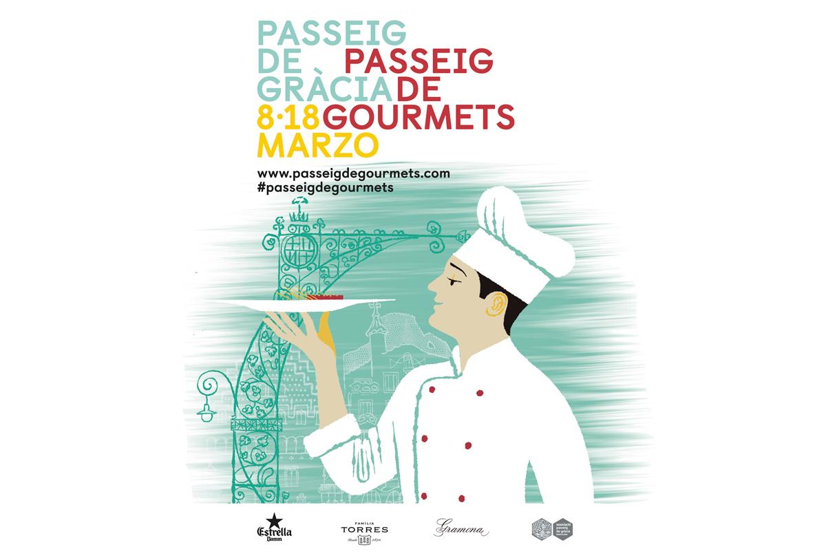 Festival gastronómico Passeig de Gorumets