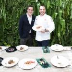 Joaquim Clos y Aurelio Morales en La Terraza del Claris