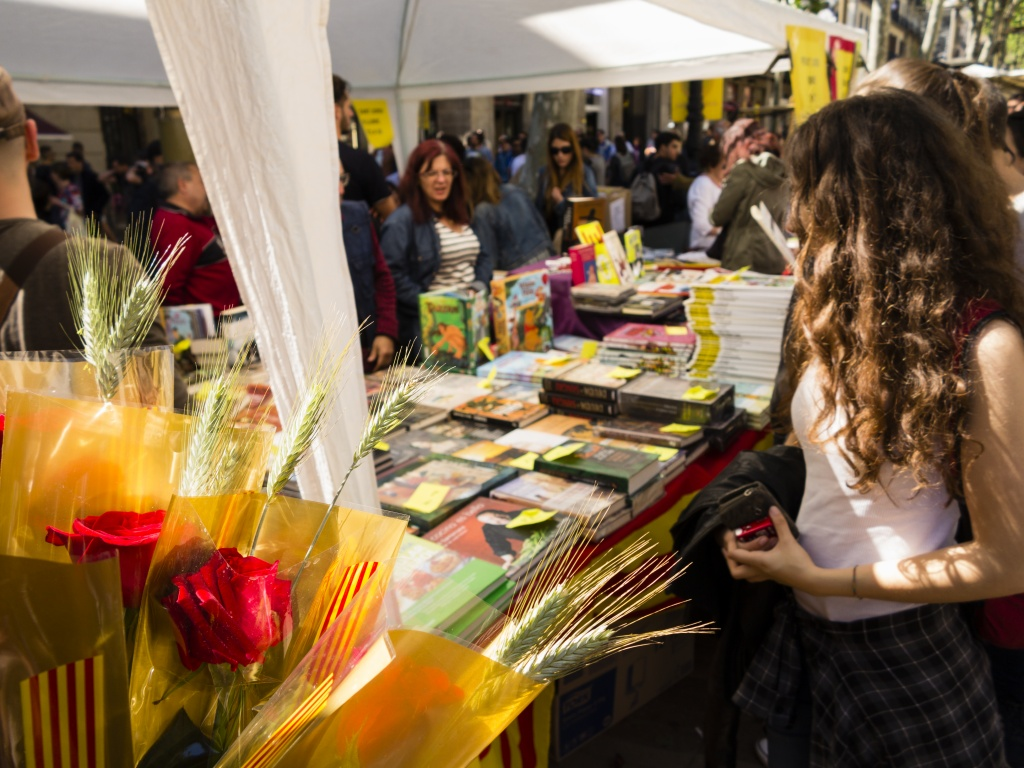 Sant Jordi Barcelona Derby Hotels Collection Dia del Libro Las Ramblas