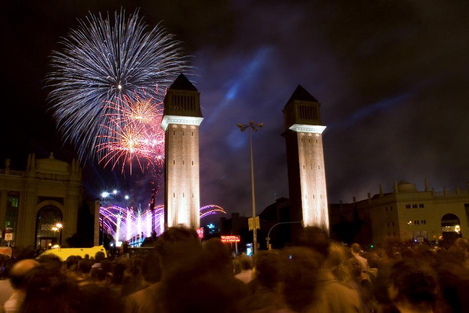La Mercè Fiesta Mayor Barcelona Septiembre Derby Hotels Collection correfocs