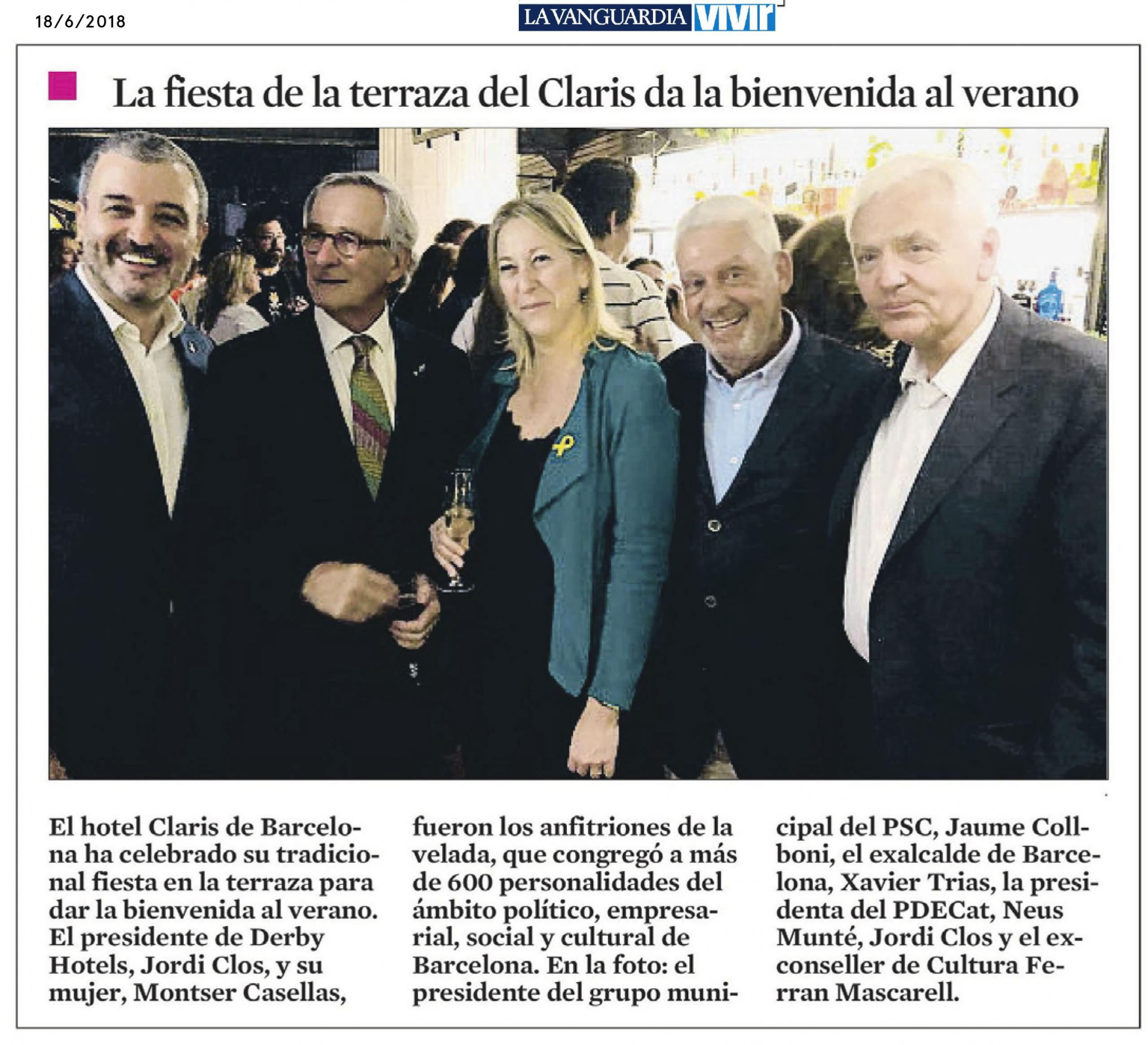 Area stampa di derby hotels collection hotel a barcellona for Hotel derby barcellona
