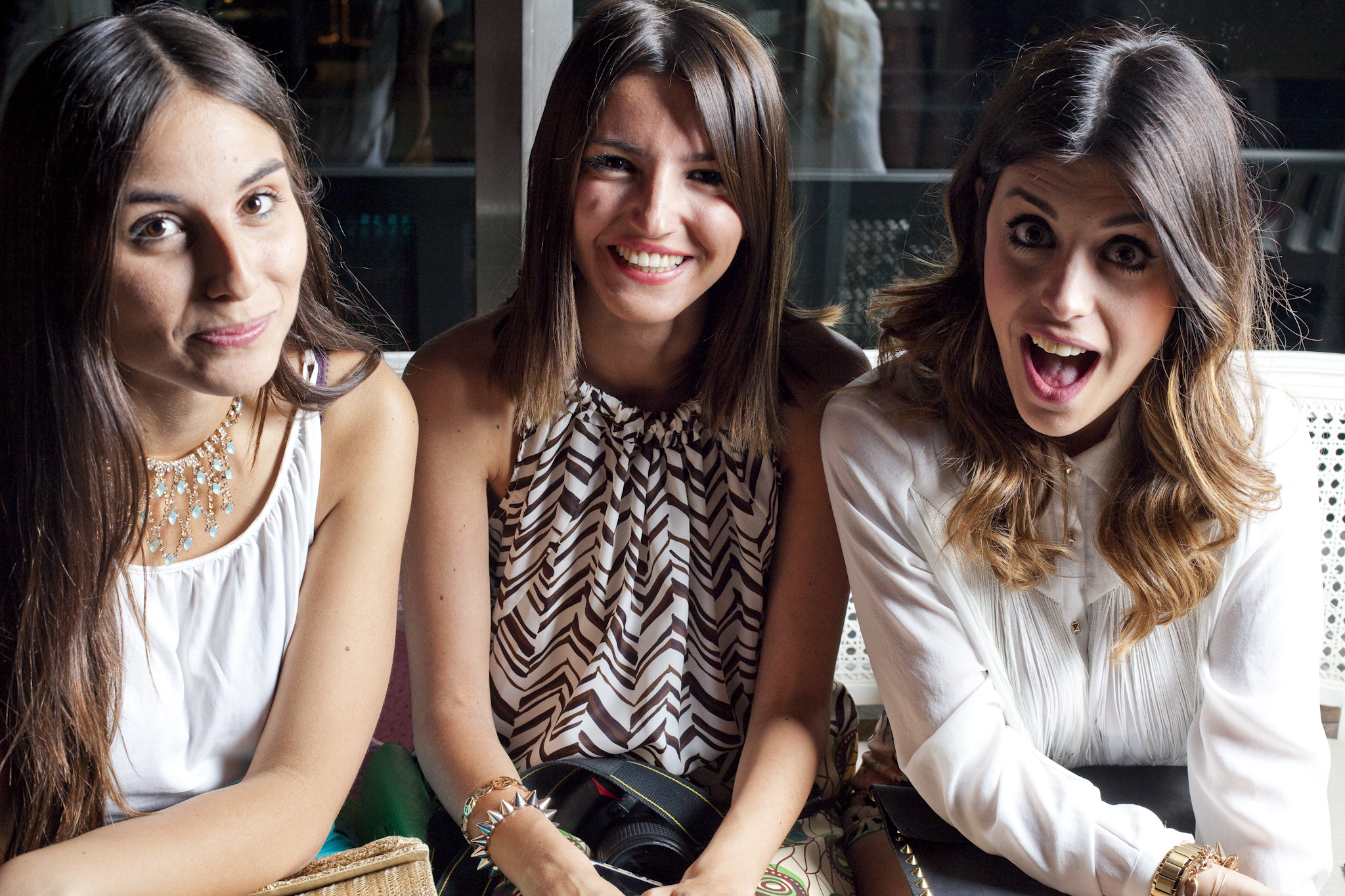 Era from Allt That She Wants, Alejandra from Lovely Pepa and Aida from Dulceida