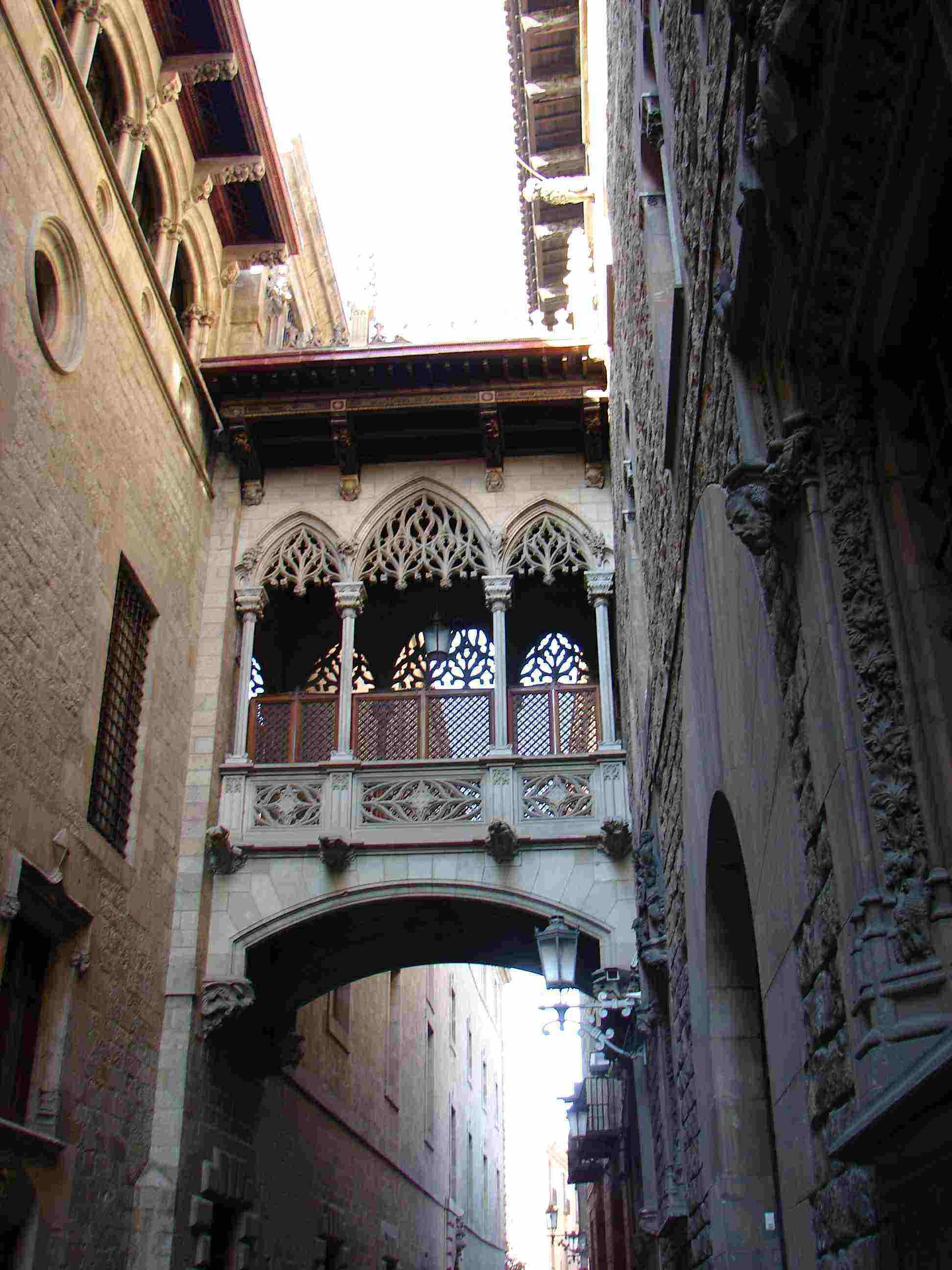 Gothic Quarter in Barcelona