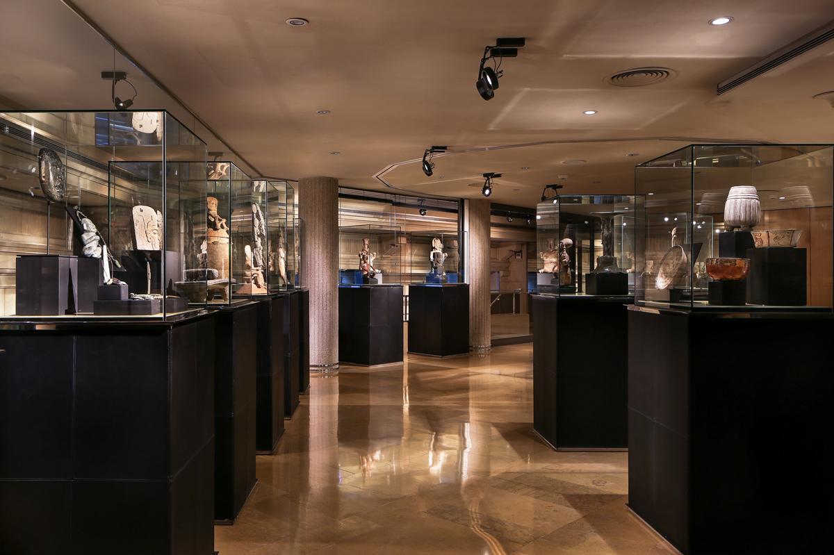 Mayan culture - Museum room