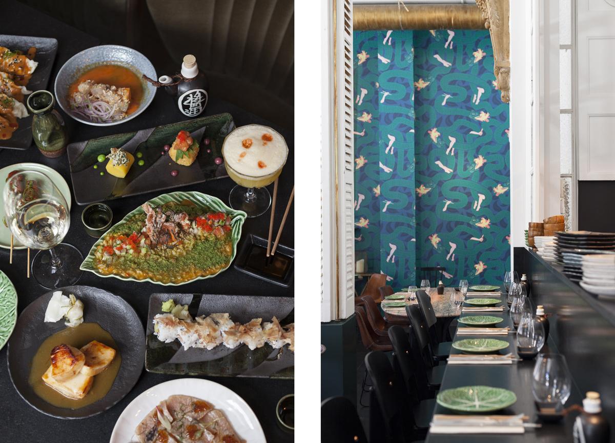 Plates and Restaurant Big Kokka