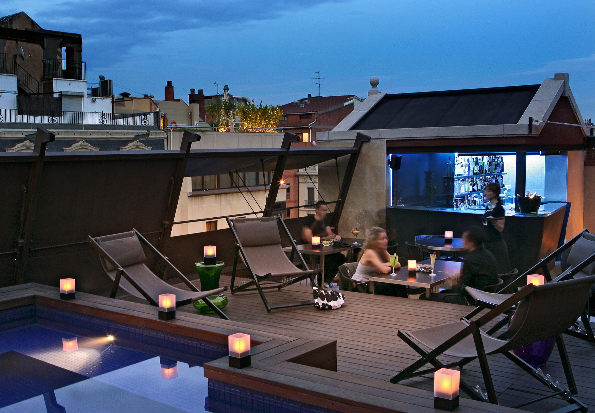 Terraces in Barcelona, Granados 83 Hotel