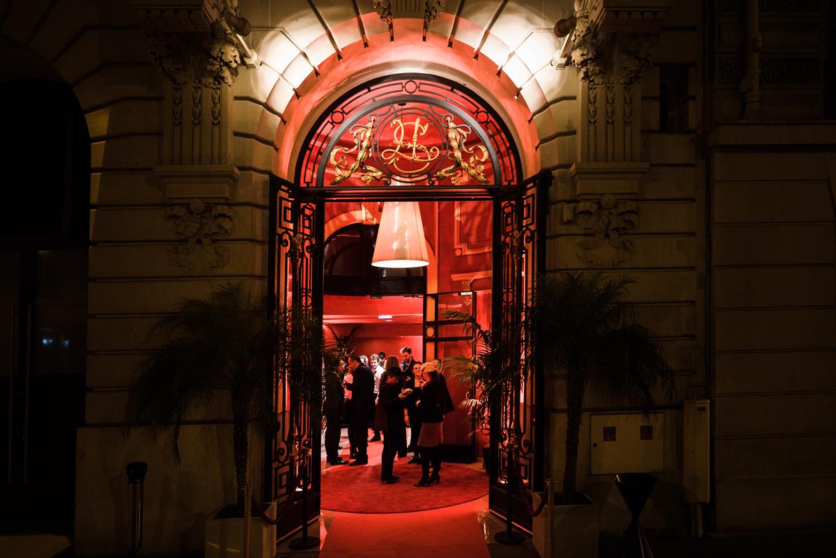 Salle des Coffres Entrance