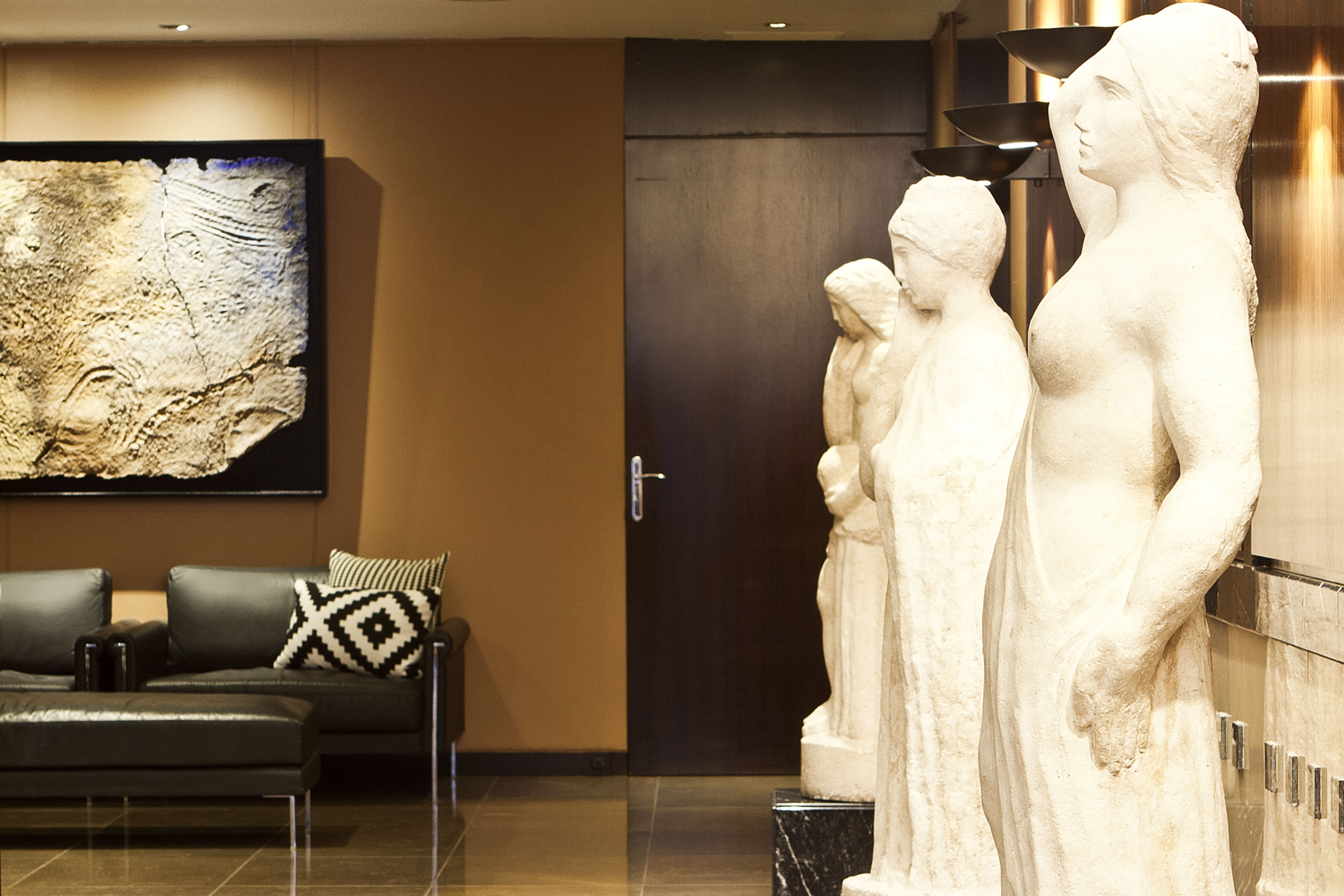 Muses Statues - Hotel Derby