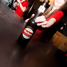Mahou beer