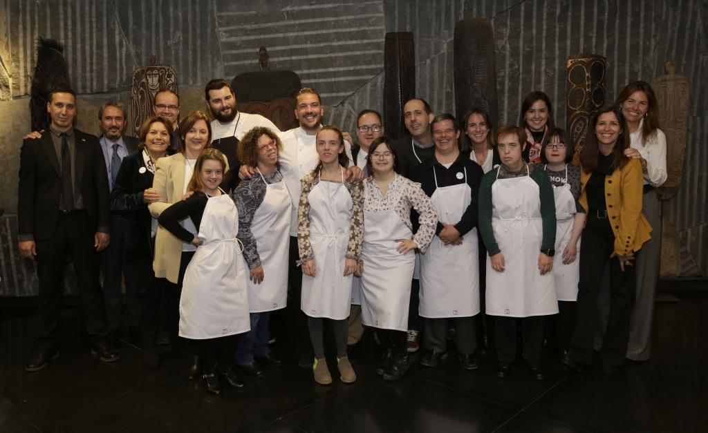 AURA FUNDACIÓN Y DOWN MADRID_DHC Aura Foundation
