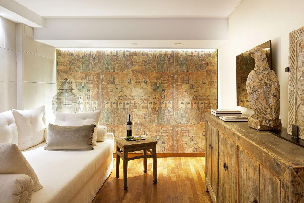 bedroom, luxury, design, decoration, derby hotels collection,  hotel claris, Barcelona, art, interior design