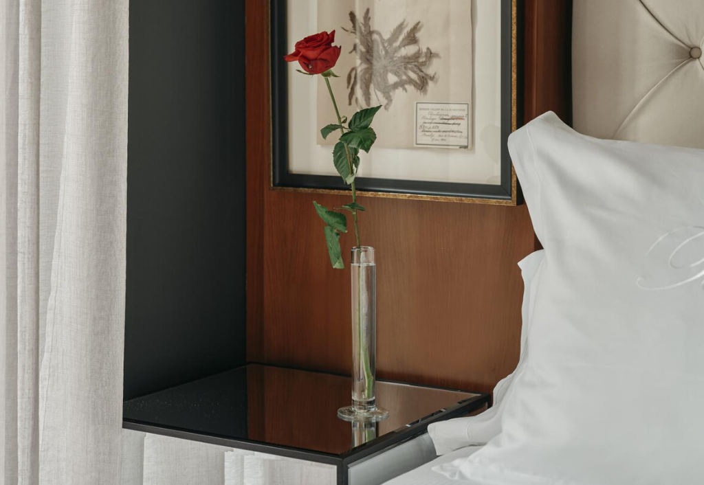 bedroom, luxury, design, decoration, derby hotels collection,  hotel banke, paris, france