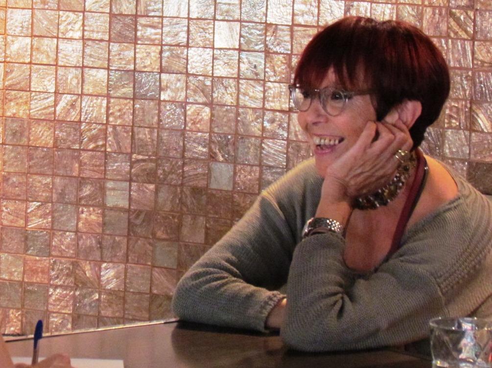 Maruja Torres en el Hotel Granados 83