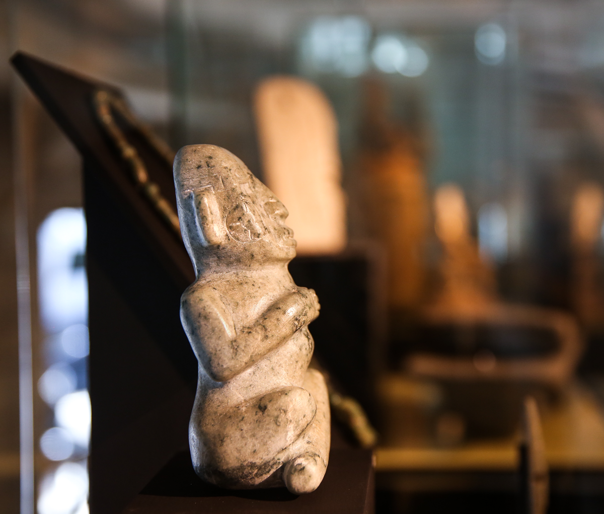 Cultura maya - Hombre sentado