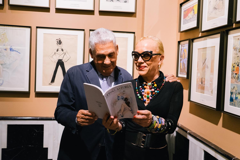 Jordi Clos y Pilar Pasamontes