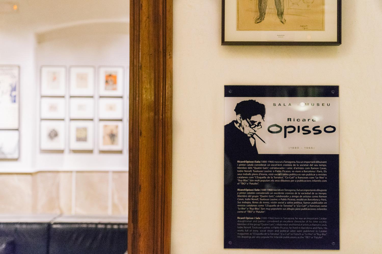 Ricard Opisso en el Hotel Astoria